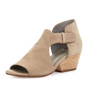 Eileen Fisher Iris Nubuck Leather Sandals Natural